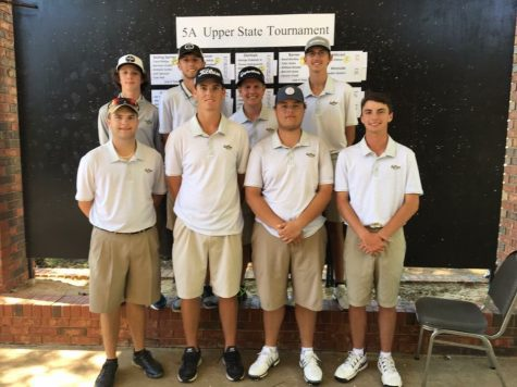 Gaffney Golf Clinches Upperstate Title