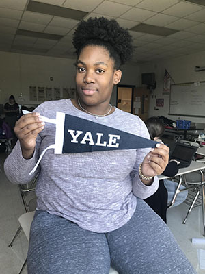 GHS Student gets full ride to Yale