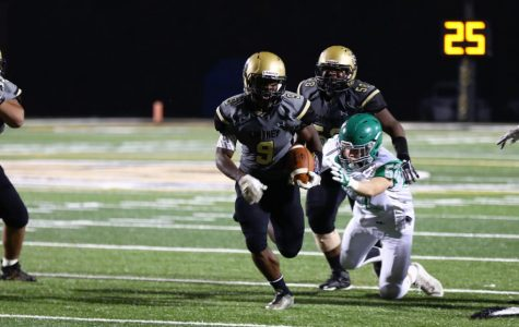 Richard Sealy on one of his three touchdown carries as Gaffney defeats Easley