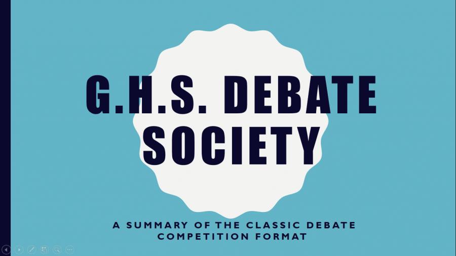 The Debate Society
