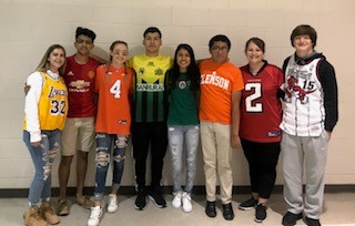 Team Jersey Day – Tuesday