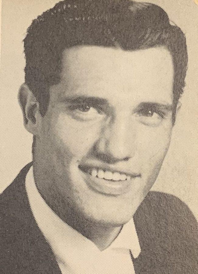 The first Gaffney Indian, Dean McKinney.