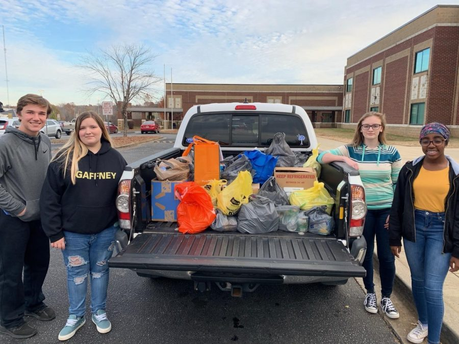 Beam Beta Club Supports Meals on Wheels