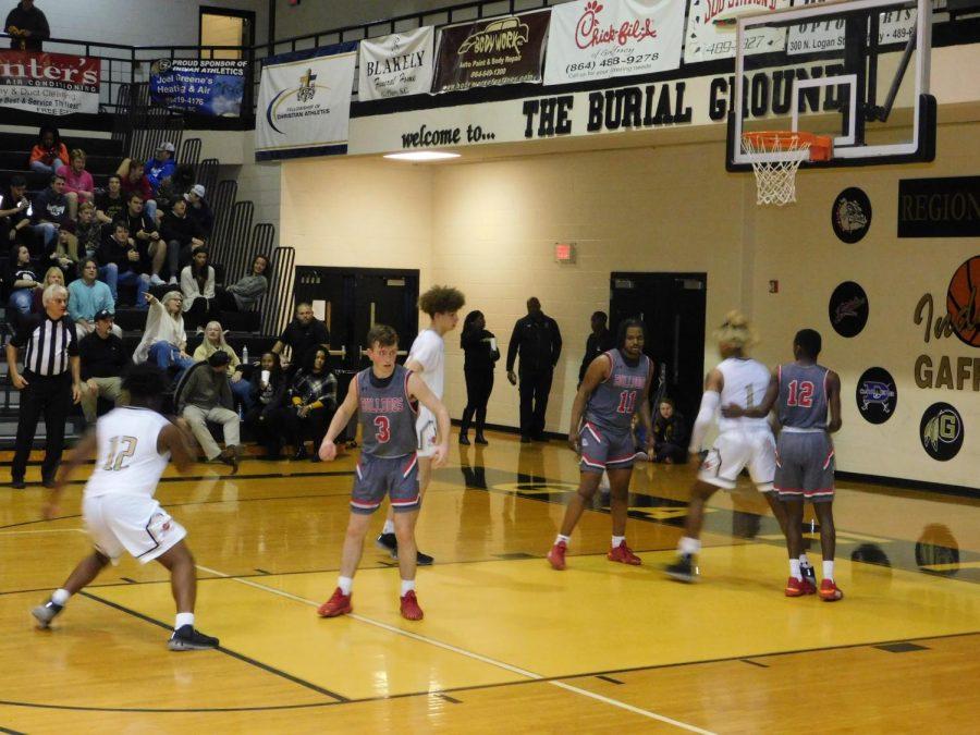 Gaffney High vs. Boiling Springs Varsity Basketball