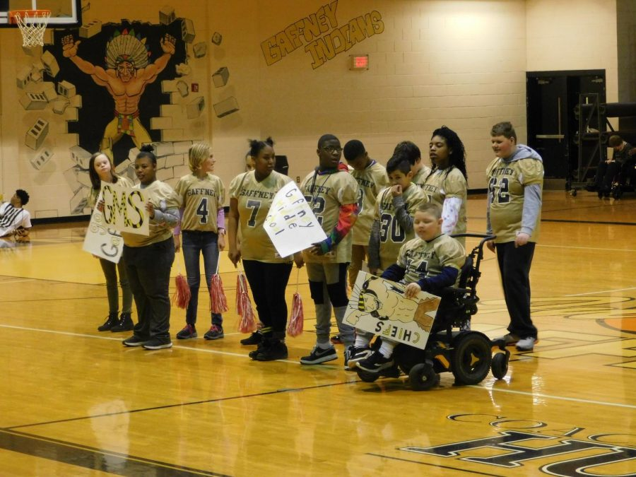 Special Olympics: Basketball and Cheerleading