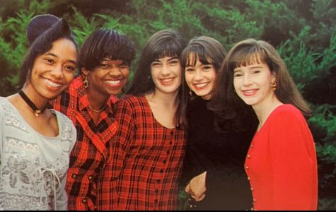 Homecoming Court of 1995! (Tameria Smith, Quantina Norris, Brooke Gibson, Jana Humphries, Melissa Webster)