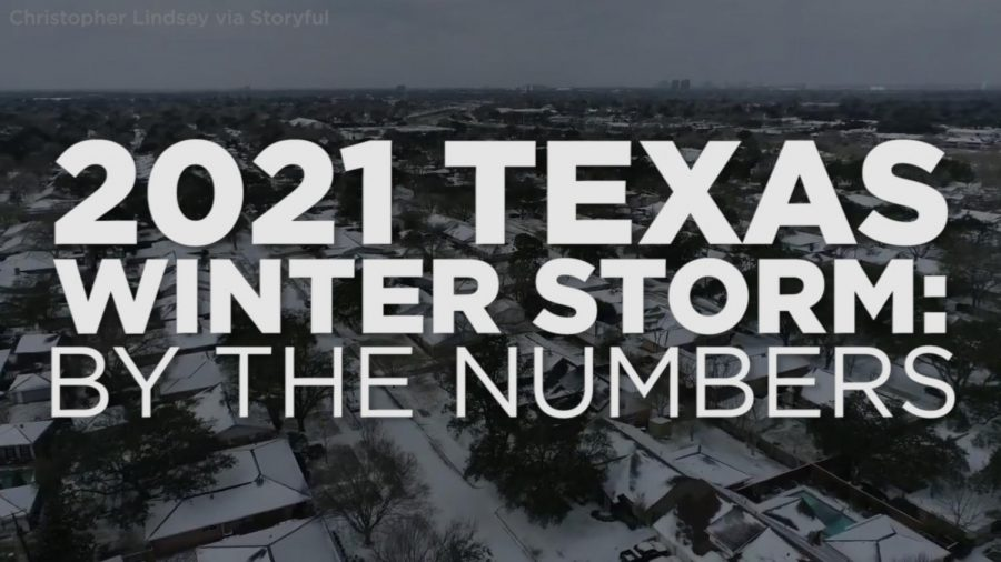 Record breaking winter storm of Texas affects citizens across the state with power outages and running water problems.