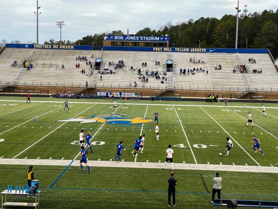 Varsity Soccer: Gaffney at Fort Mill - Photo Story