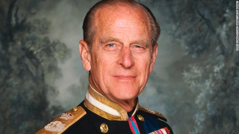 HRH Prince Philip, Duke of Edinburgh, wearing his military dress uniform, circa 1990. (Photo by Terry O'Neill/Iconic Images/Getty Images)